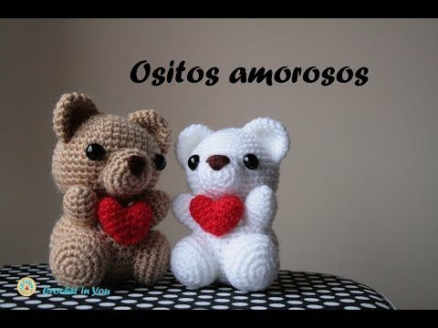 112 best AMIGURUMIS: ( OSOS Y CONEJOS) images on Pinterest   Crochet ...