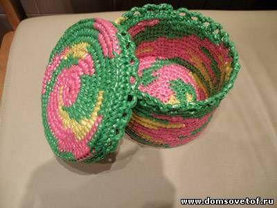 Плетение из пакетов