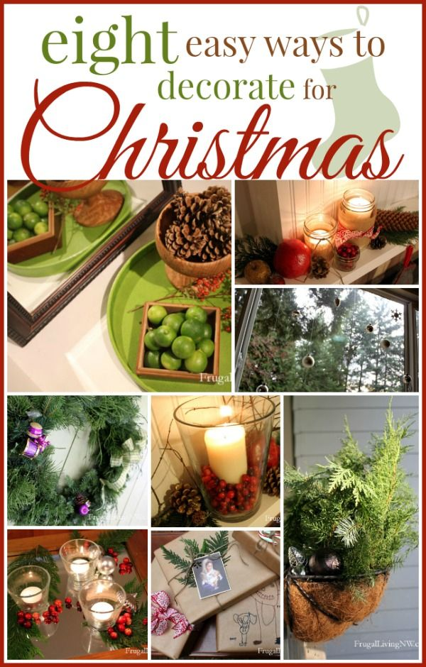 easy inexpensive ways to decorate for christmas ideas on how to