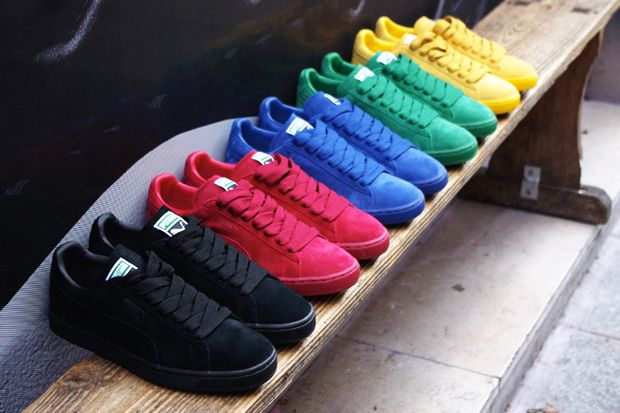 Puma Suede Different Colours