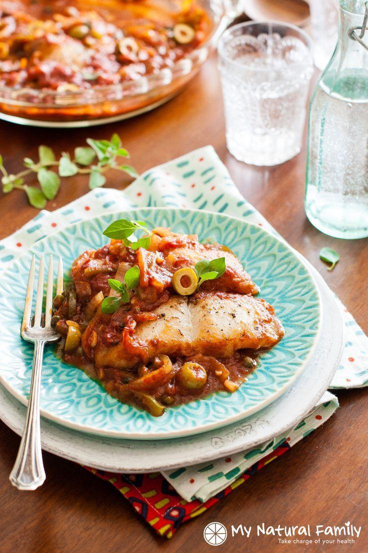 Easy bake fish veracruz recipe dairy gluten free and fish for Fish veracruz recipe