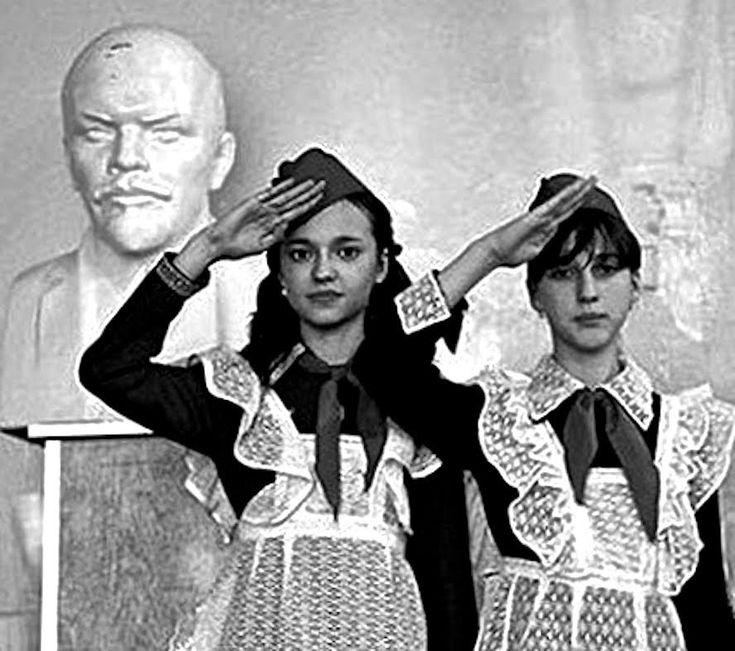"""""""Так принимали в пионеры"""" - Был такой ритуал. Москва, СССР, 22 апреля, 1..."""