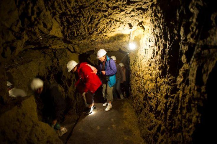Les souterrains de vie de la Butte de #Vauquois. Crédit photo : CDT Meuse/Guillaume Ramon