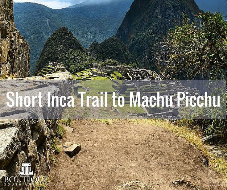 The perfect compromise between adventure and comfort- hike the Inca Trail and stay in hotels. This incredible trip cannot be missed  #IncaTrail #cuzco #shorthike #ancienthistory #awesomeadventure #adventuretravel Check it out at http://ift.tt/1UUuAK9 with boutique south america