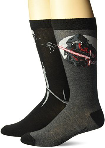 Star Wars Men's Episode 8 Crew Socks //Price: $9.99 & FREE Shipping //     #starwarscollection