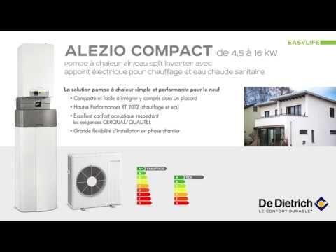 Montage de la pompe à chaleur Alezio Compact: Montage de la pompe à chaleur Alezio Compact #InfoWebBTP