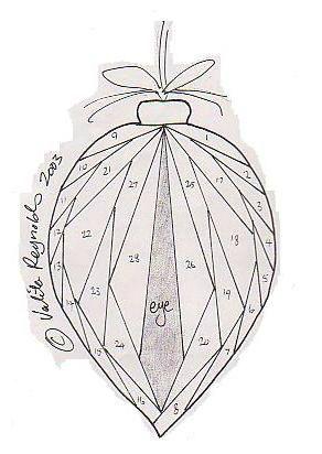 Carte Noël en Iris Folding - Nerina Passions