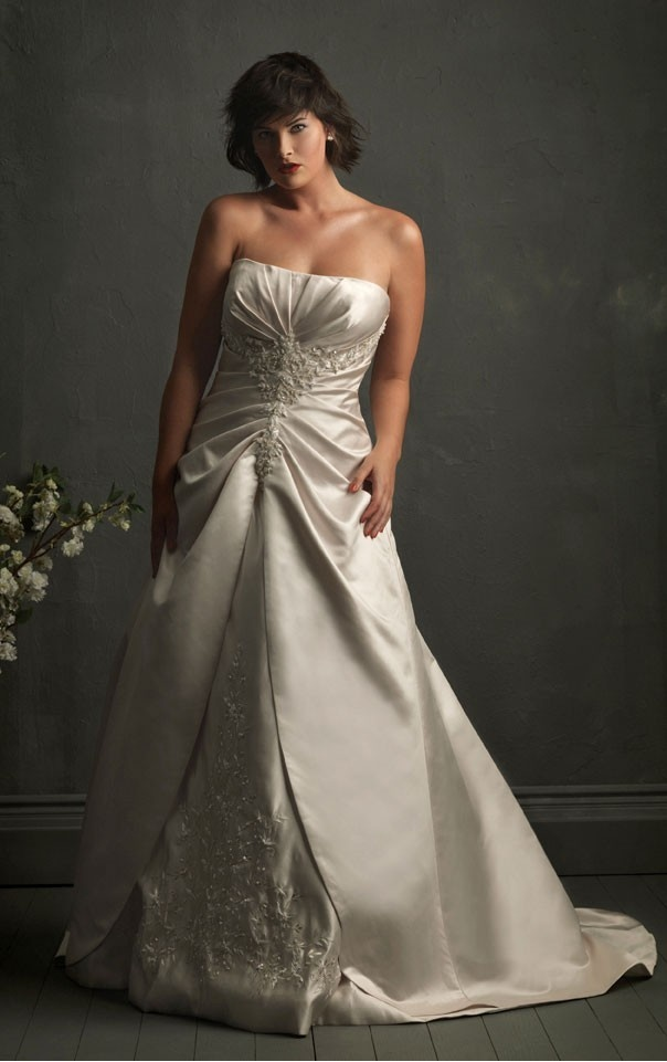 19 Best Images About Wedding Dresses On Pinterest Silver