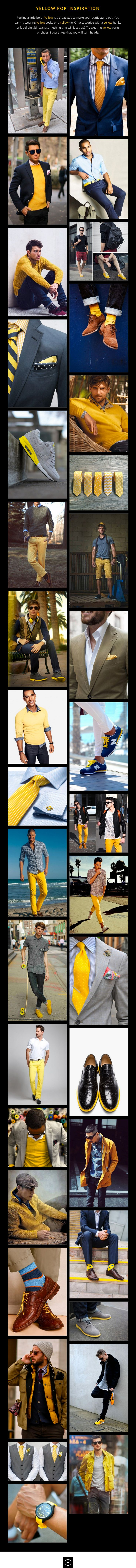 #mensfashion #yellow #menswear #Mensstyle