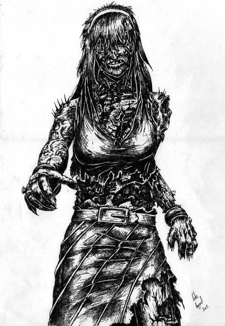 ZombieLady02 by TrevorDaveSon.deviantart.com on @deviantART
