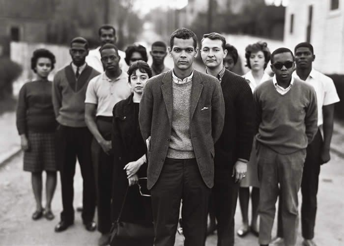 The Freedom Riders Coordinating Committee was established in Atlanta, Ga (May 26, 1963). A face you might recognize (from his younger days)  that was a member of that committee was Julian Bond.: