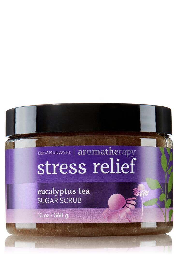 Stress Relief - Eucalyptus Tea Sugar Scrub - Aromatherapy - Bath & Body Works