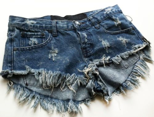 One Teaspoon Shorts Size 27 LF One Teaspoon Denim Shorts