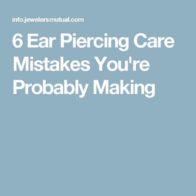 Best 25+ Infected Ear Piercing Ideas On Pinterest