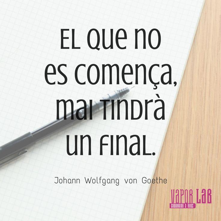 El que es comença, mai tindrà un final! #enterpreneur #enterpreneurship