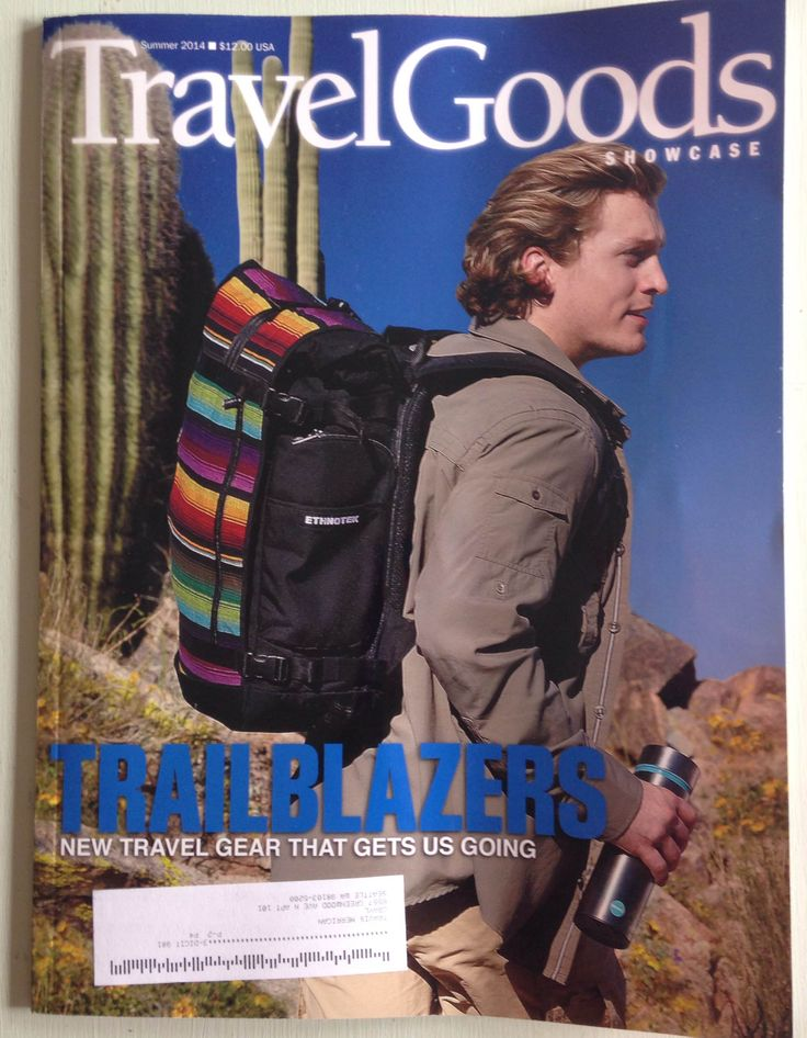 GRAYL on the cover of Travel Goods magazine!  Our first cover shot.  #travel #adventure #cleanwater #waterfilter The Water Filtration Cup filters water on the go, from tap to trail to travel.  #green #healthy #environment #stylish #stainless #trek #hike #covermodel #thegrayl www.thegrayl.com