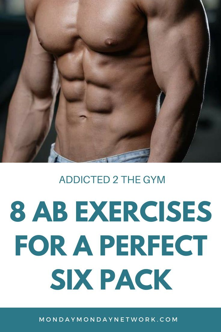 8 Ab Exercises For A Perfect Six Pack With Images Abs Workout