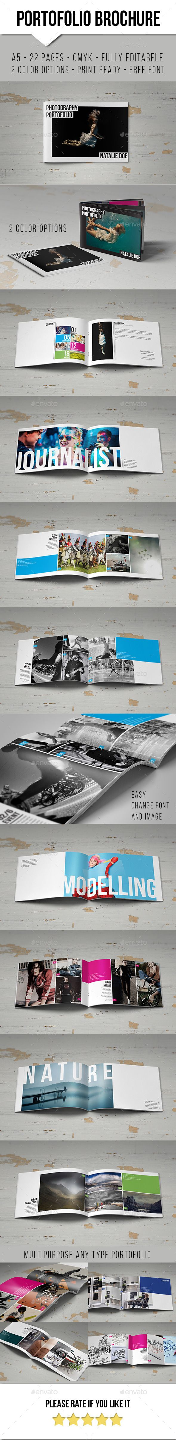 Simple Portofolio Brochure