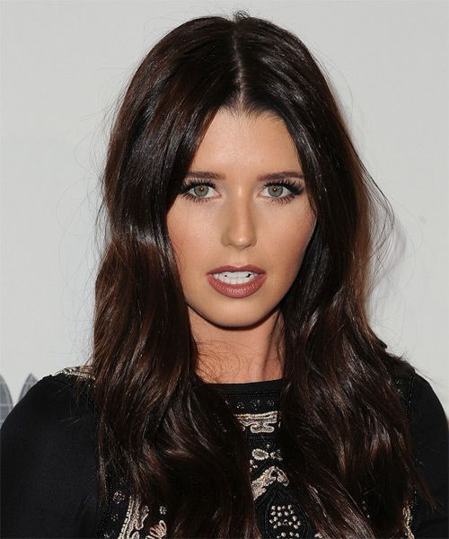 Katherine Schwarzenegger Long Straight Hairstyle. Try on this hairstyle and view styling steps! http://www.thehairstyler.com/hairstyles/casual/long/straight/Katherine-Schwarzenegger-glossy-brown-hairstyle