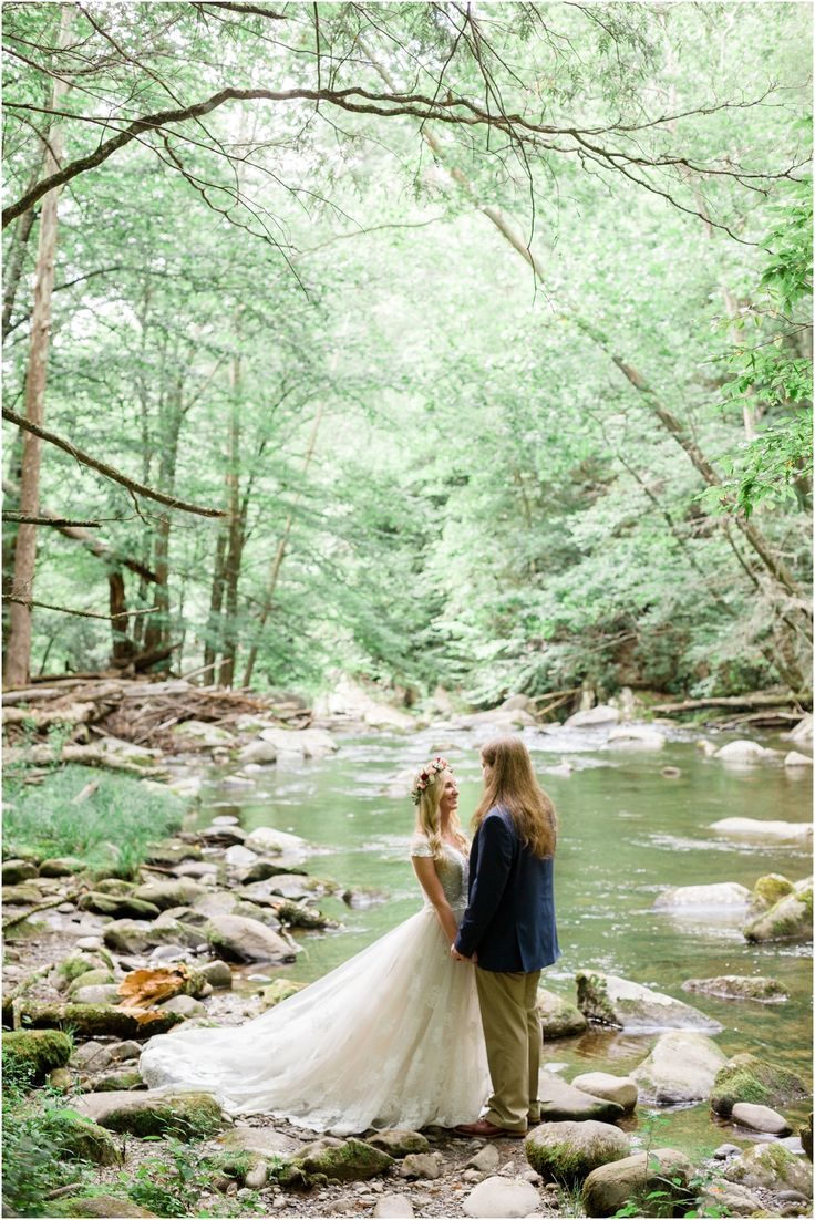 Love This Destination Wedding In The Great Smoky Mountains National Park At Spence Cabin Photography