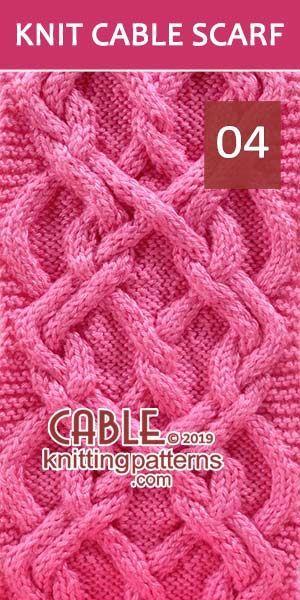 Hodor Celtic Knot Cable Scarf -Pattern 04, es ist kostenlos. Fortgeschrittener Stricker und mehr