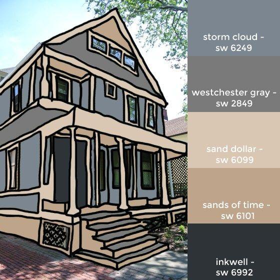 House Colors Mockup Exterior Paint Pinterest House Colors Colors And New Houses