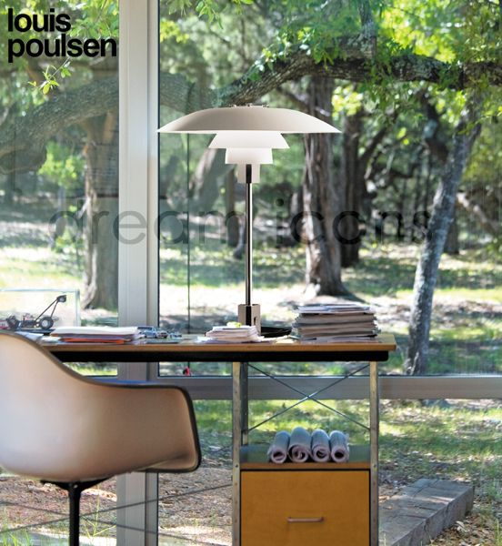Louis Poulsen PH 4/3 Table Lamp, by Poul Henningsen In Stock - Free UK Delivery - Louis Poulsen PH 4/3 Table Lamp, by Poul Henningsen - £571.00 : dream icons, Modern Contemporary Home Accessories and Gifts