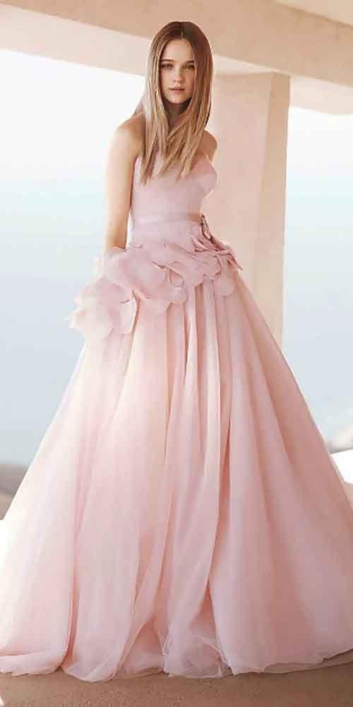 colorful wedding dresses 14