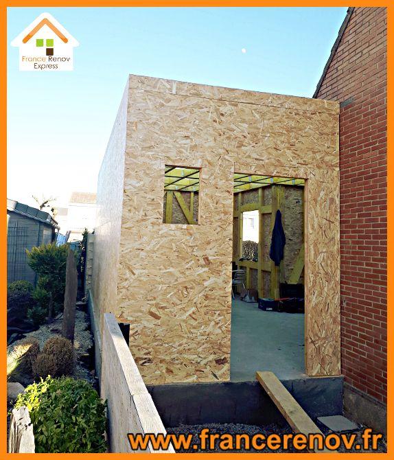 Extension Ossature Bois 50m A Douai Ossature Bois Extension Ossature Bois Maison Ossature Bois