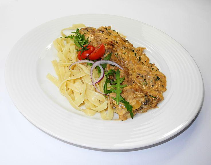 Sliced Veal Zurich Style, Swiss cuisine, December