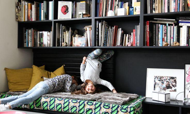 Marion Duclos Mailaender, <br/>Rose 9 ans et Bettina 6 ans