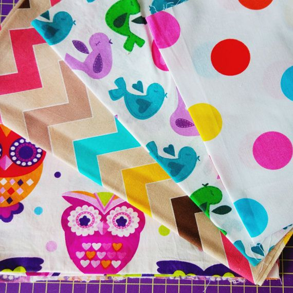 Craft Supplies & Tools  Fabric & Notions  Fabric  Owls fabrics  birds fabric  polka dots fabric  chevron fabric  bright fabric sewing fabrics  baby fabrics  quilting fabrics  patchwork fabrics  cotton fabrics  doll makes fabric  fabrics cut fabrics by the yard