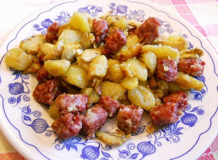 artichokes potatoes sausages