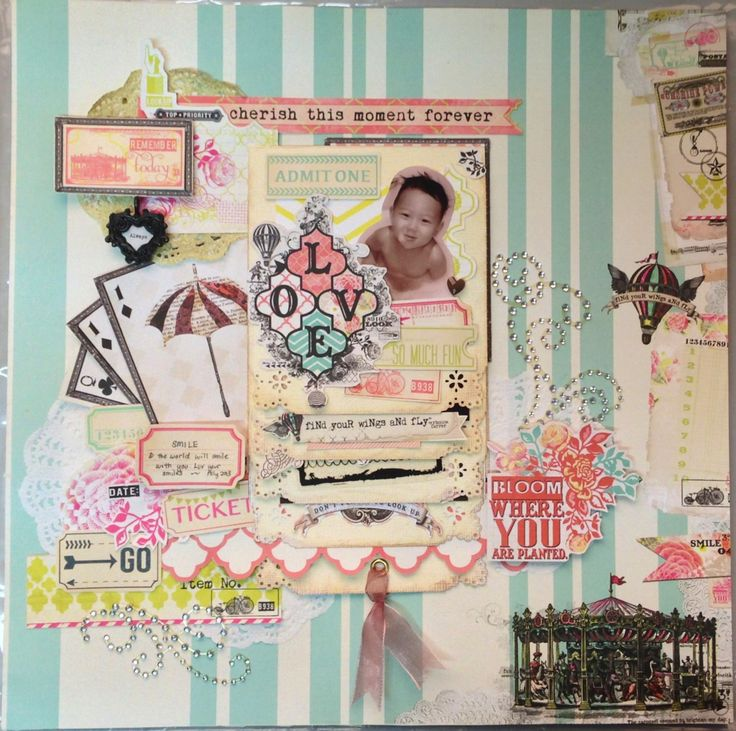 94 best my mind 39 s eye images on pinterest paper crafts for Waterfall design in scrapbook