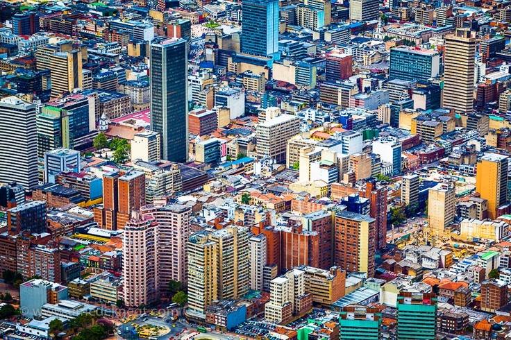 Downtown Bogotá, Colombia