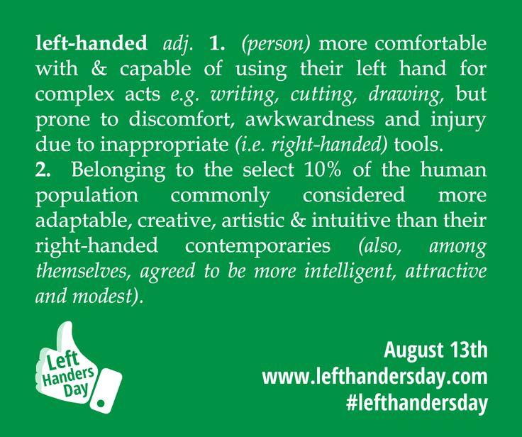 Left-Handed Definition