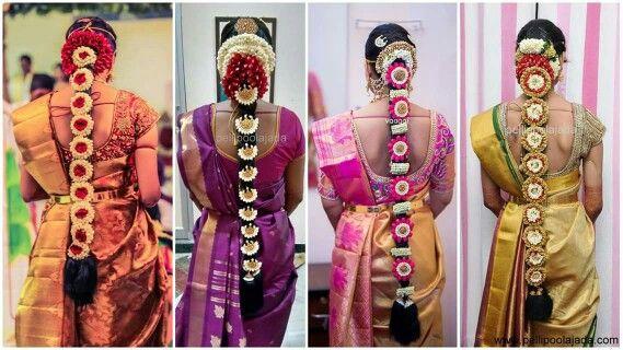 Telugu bridal hair. Pelli poola jada | Bridal Hair ...