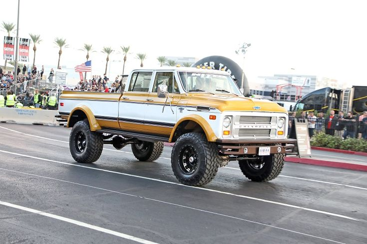 1972 Chevy K50 by Rtech Fabrications leaving SEMA 2017