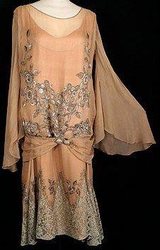 1920's Gorgeous Roaring 20's Dress
