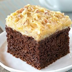 German Chocolate Cake Allrecipes.com...reviewers say to add 3Tbsp ...