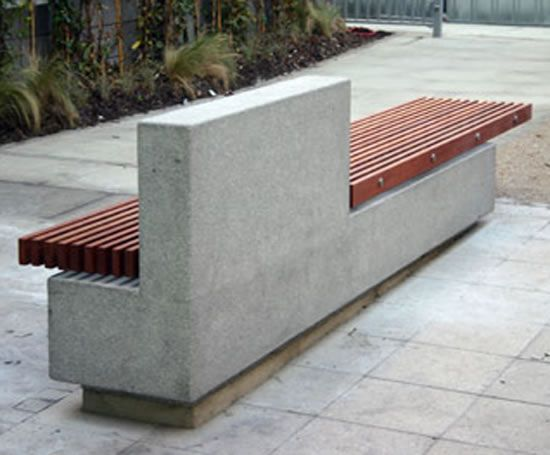 17 Best Ideas About Concrete Bench On Pinterest Outdoor Decking Types Of Concrete And Garden
