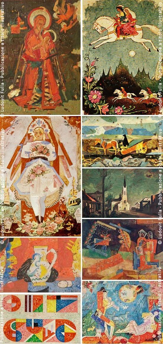 Artisti slovacchi: Ľudovít Fulla (1902 – 1980) | BUONGIORNO SLOVACCHIA