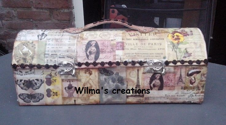 Decoupage. Wilma's creations