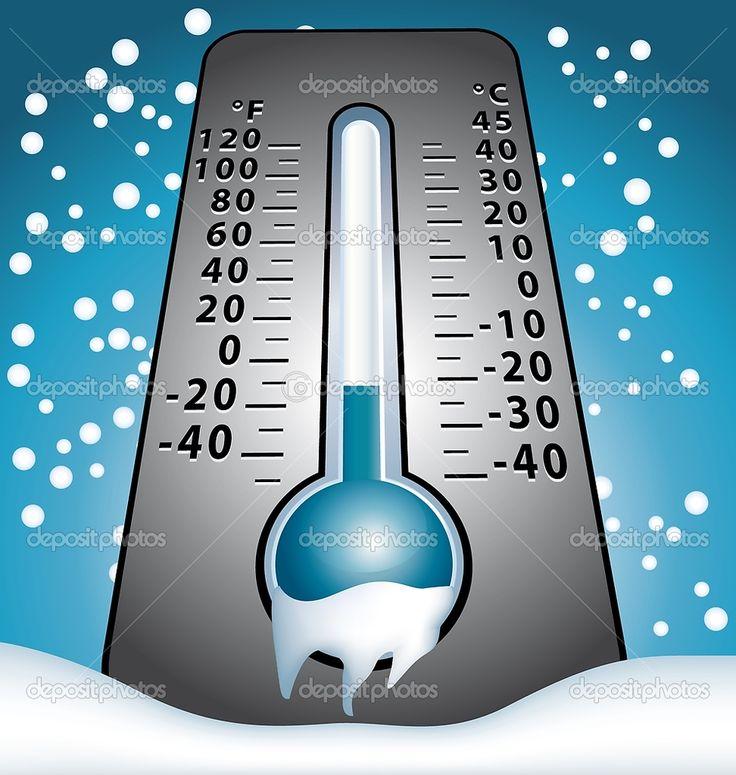 Tengo frío cuando es treinta y dos grados.