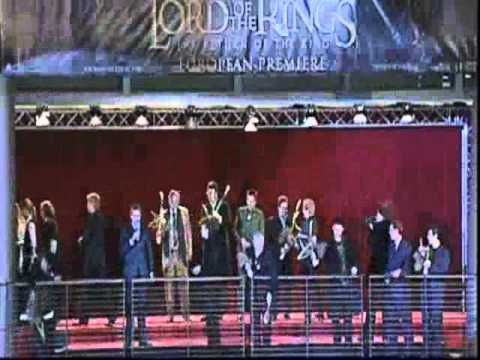 Lord of the Rings Premiere Berlin 12/2003