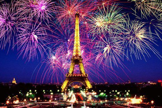 Con immagini di parigi e scritto in francese; Pin On Capodanno A Parigi
