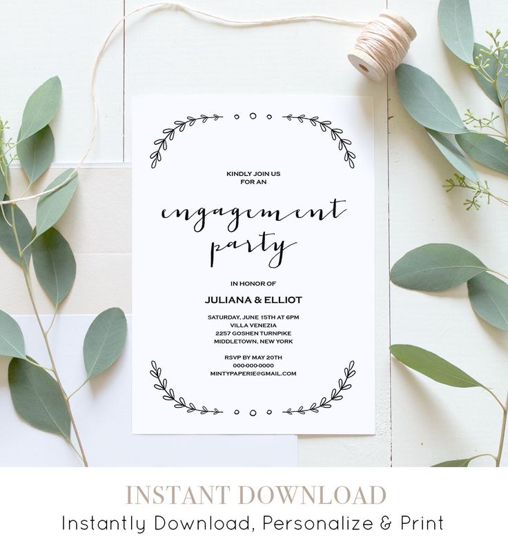 42 best Engagement Elope Vow Renewal by MP images on Pinterest - engagement party invites templates