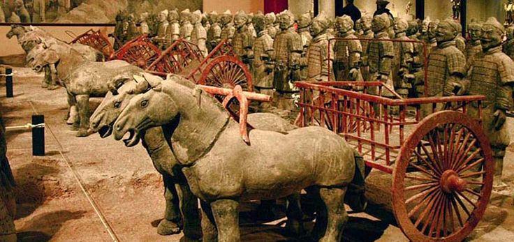 Reinician excavaciones en los Guerreros de Terracota - http://www.absolut-china.com/reinician-excavaciones-en-los-guerreros-de-terracota/