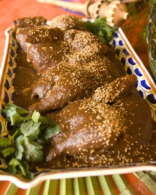 """Chicken Mole Poblano (Puebla Style) 
