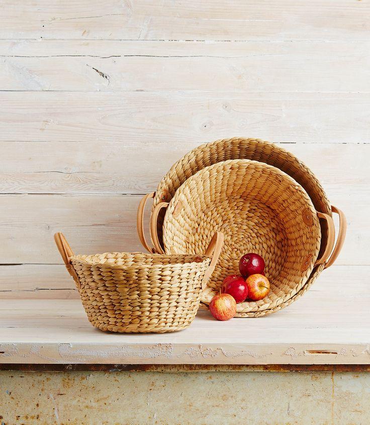 Robert Gordon Australia SS15 collection. Harvest Market Baskets. Styling by Hannah and Kate Gordon. Photography by Jarrod Barnes.
